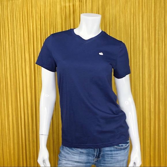 APPLE Store Blue T-Shirt M